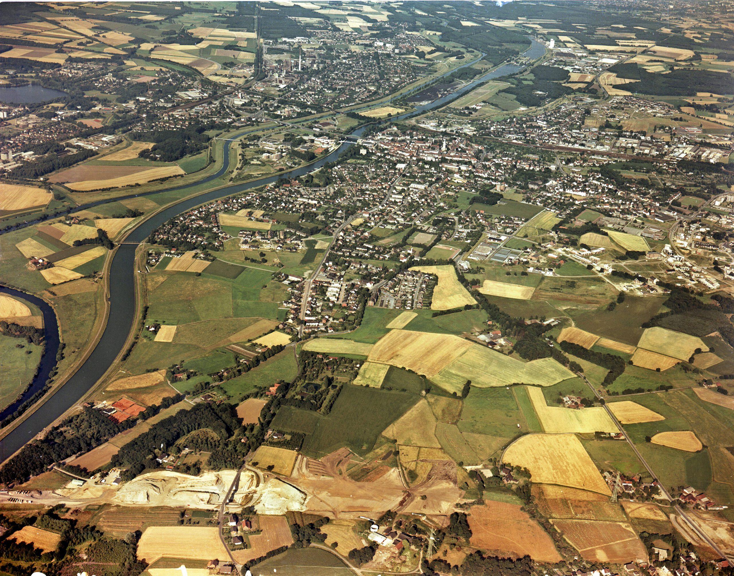 Luftbild Dorsten Hardt ca. 1980