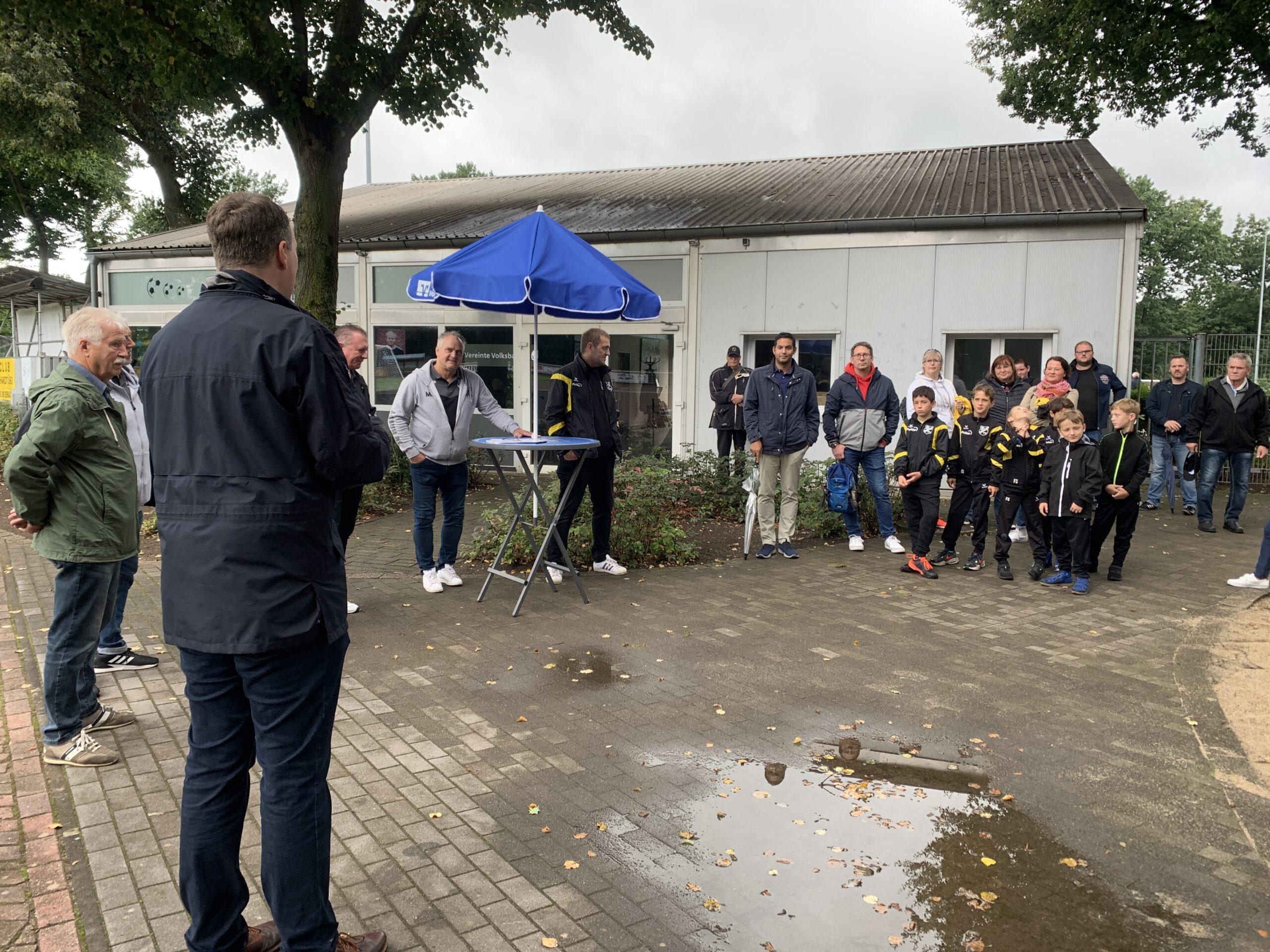 Eröffnung Spielgeräte SV Dorsten-Hardt 3
